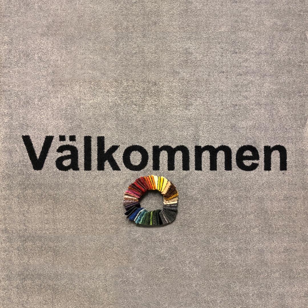 Entremattor Välkommen - Hyr Logomatta